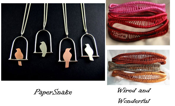 Paper Snake and Wired & Wonderful