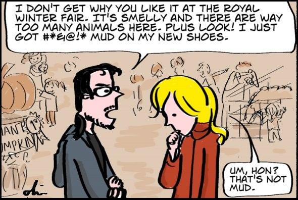 Royal Winter Fair comic