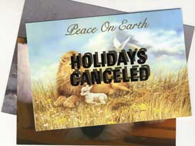 Holidays Canceled Cards