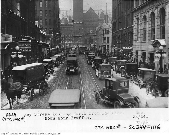Bay and Adelaide - 1920s