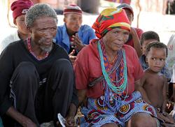 Jan van der Westhuizen, Khomani San traditional healer