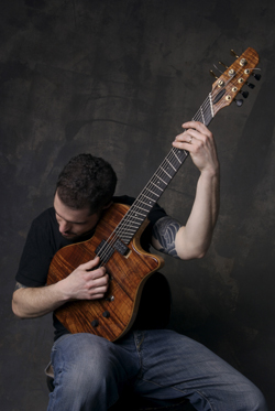 Charlie Hunter and his 8-string