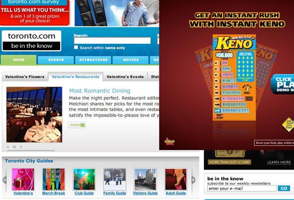 Toronto.com web site