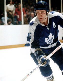 Ron Ellis as a Toronto Maple Leaf