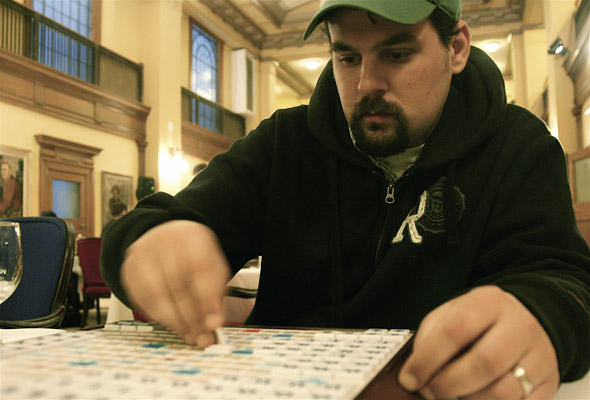 Maxim Panitch at the Canadian National Scrabble Championships in Toronto