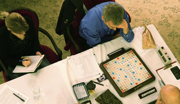 David Boys at the Canadian National Scrabble Championships in Toronto