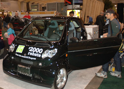 Green Living Show Floor Display Car