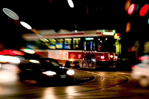 TTC Buses and Streetcars Quieted