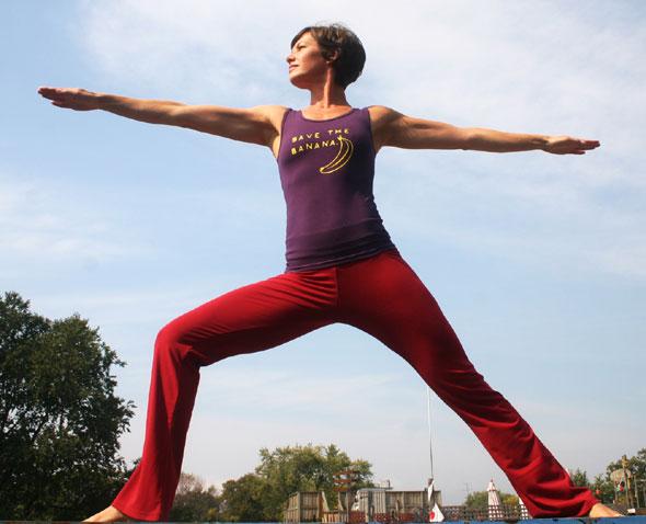 Yogagurl Alexandra Leikermoser clothing