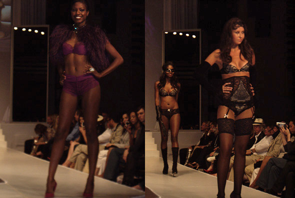 The Art of Seduction Models Lingerie Fashion