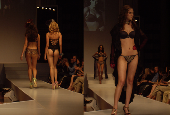 The Art of Seduction Model Lingerie Fashion
