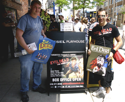 Evil Dead: The Musical fans line up in Toronto