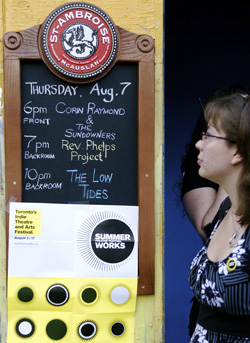 Rev. Phelps Project at Summerworks causes protest outside The Cameron House