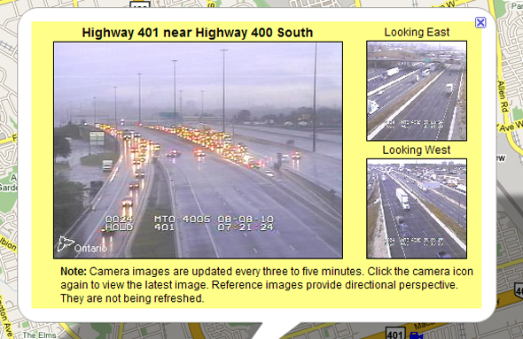 401 Closed by Police