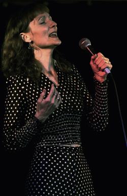 Jennifer Moore at the Kate Bush Tribute night in Toronto