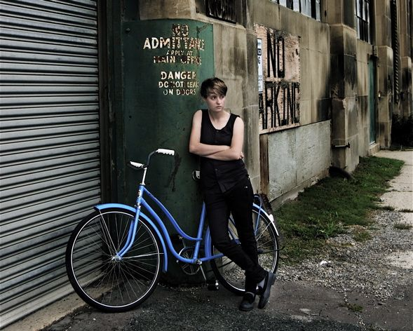 Carmen Elle - Blue Bike