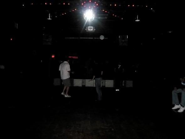 empty dancefloor at worngbar