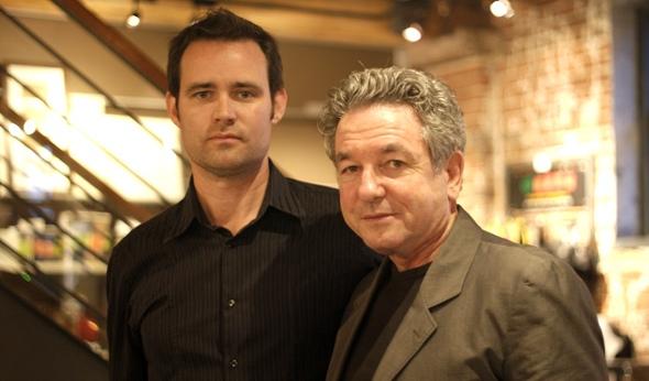 Brian Hamill and director Joe Otting