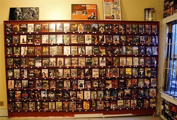 Eyesore Cinema video store opens in Toronto with a wall of videos