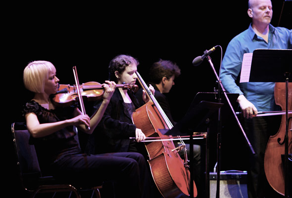 Art of Time Ensemble perform Words & Music