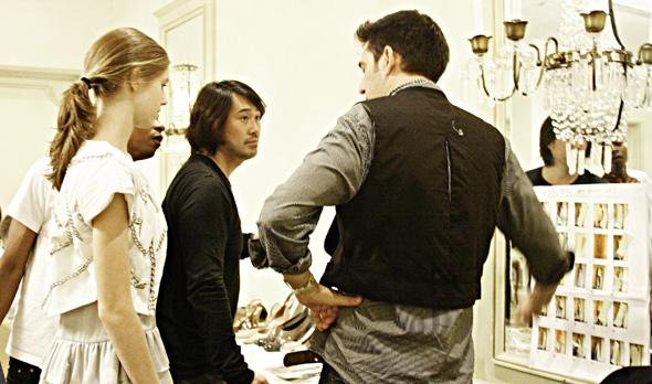 Afshin Feiz L'oreal Fashion Week 2009