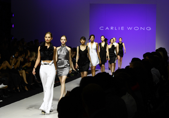Carlie Wong finale at L'oreal Fashion Week