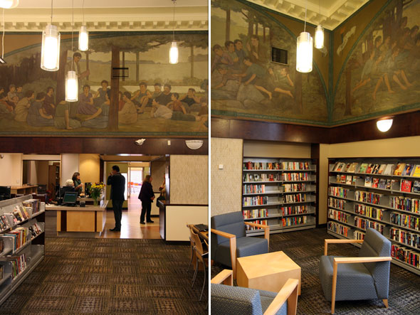 Library Murals