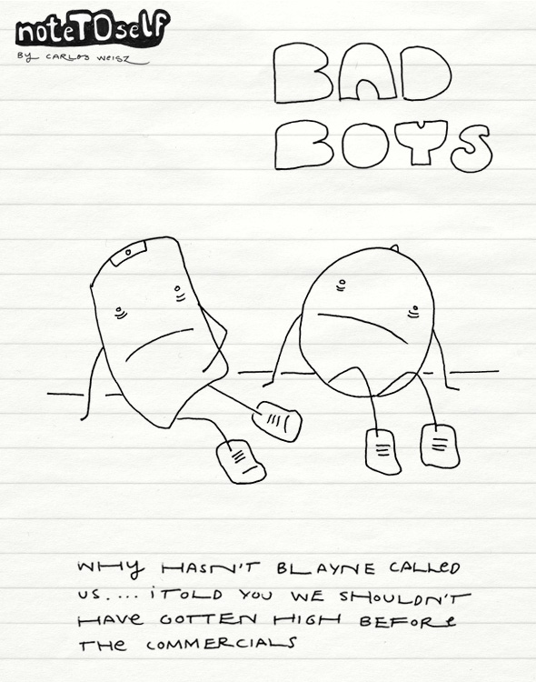 noteTOself bad boys