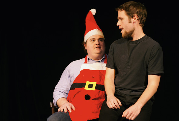 Toronto Sketch Comedy Festival with Santa skech