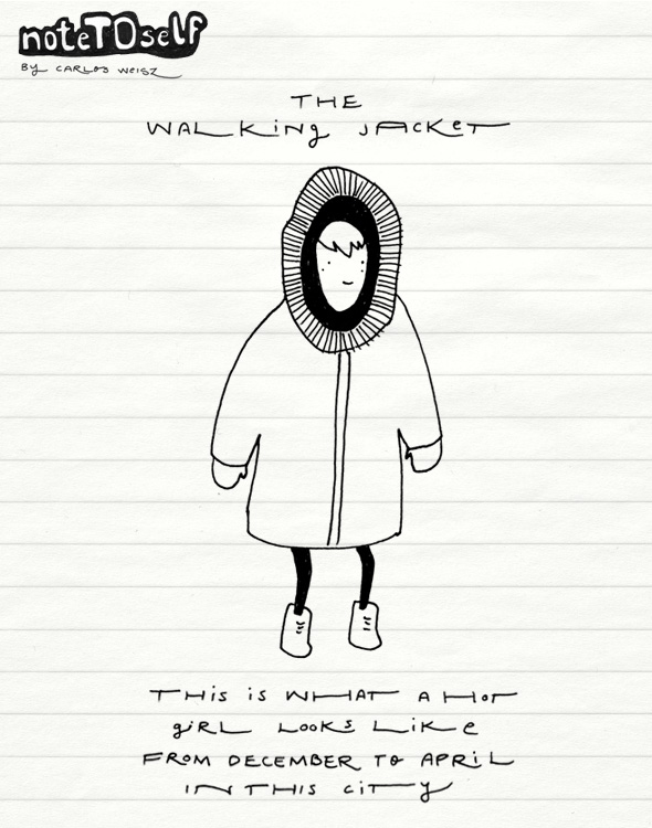 walking jacket