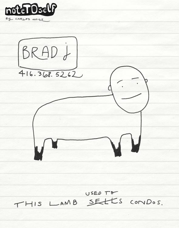 noTOself brad j lamb