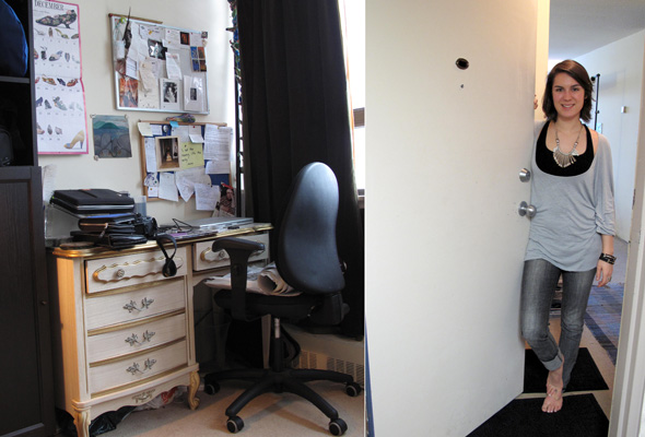 Abigail's desk