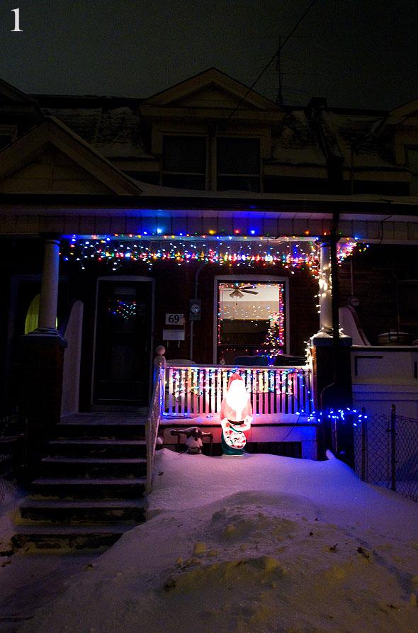 Parkdale Christmas Lights