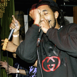 Ninjasonik at The Drake in Toronto during What's in the Box