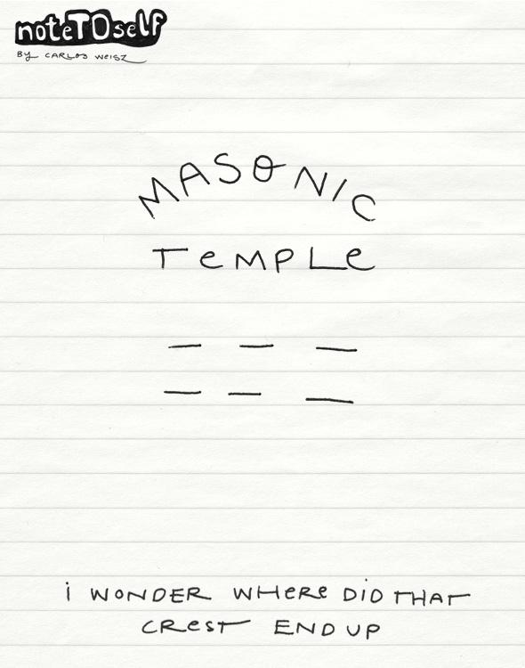 noteTOself masonic temple