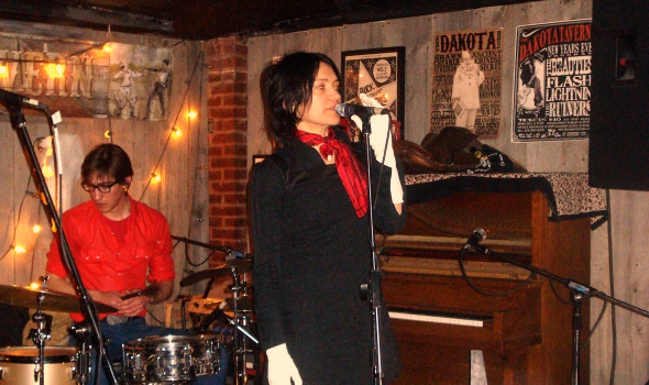 Marianne Dissard at the Dakota Tavern