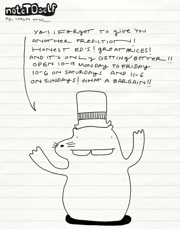 noteTOself bargainhog