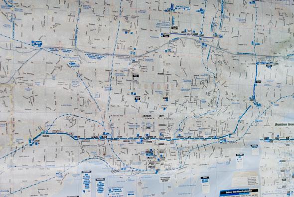 TTC Faded Map