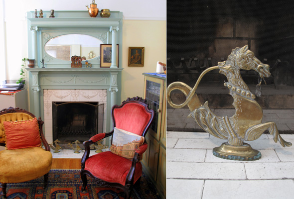 Living room and gondola horse Palmerston Blvd