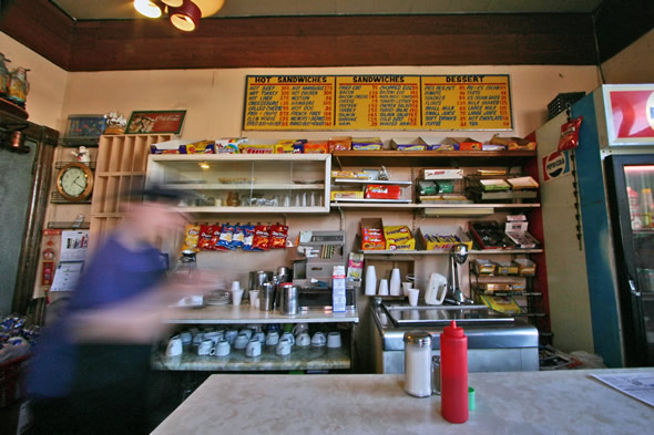 Gale's Snack Bar Blur