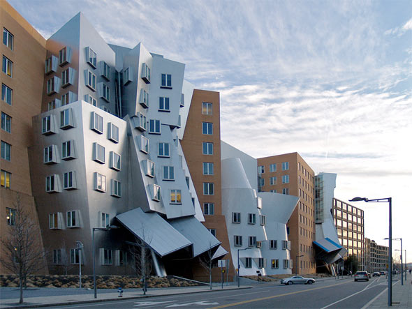 frank gehry mit stata center