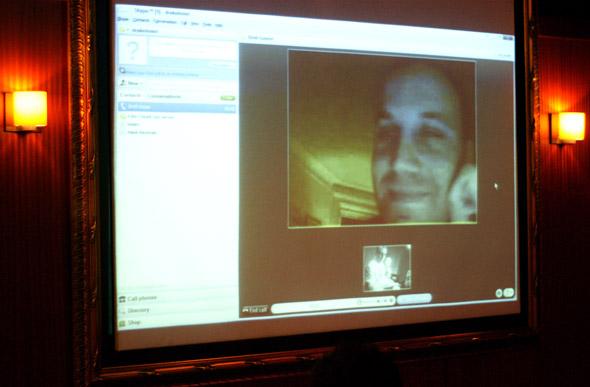 Brett Gaylor on Skype