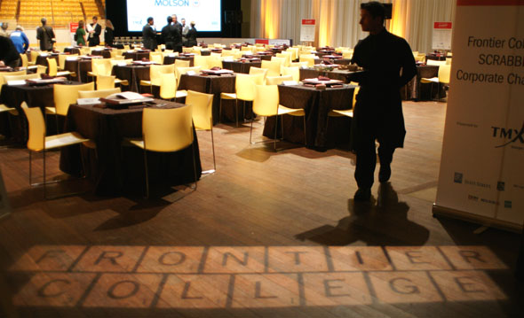 Frontier College's Scrabble Corporate Challenge