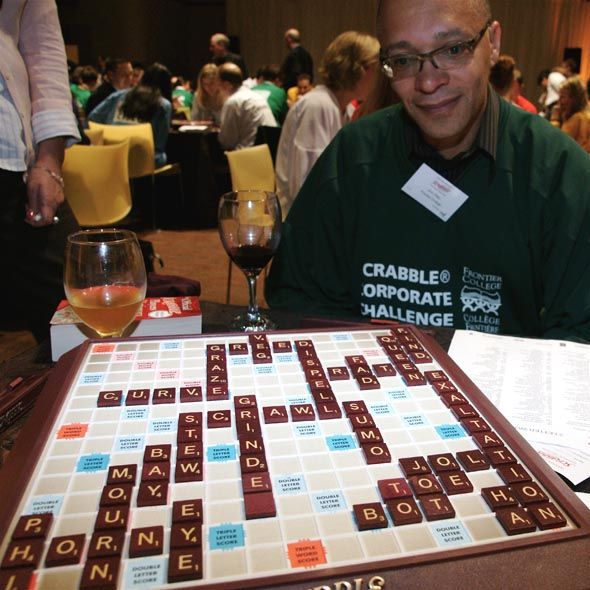 Frontier College's Scrabble Corporate Challenge in Toronto