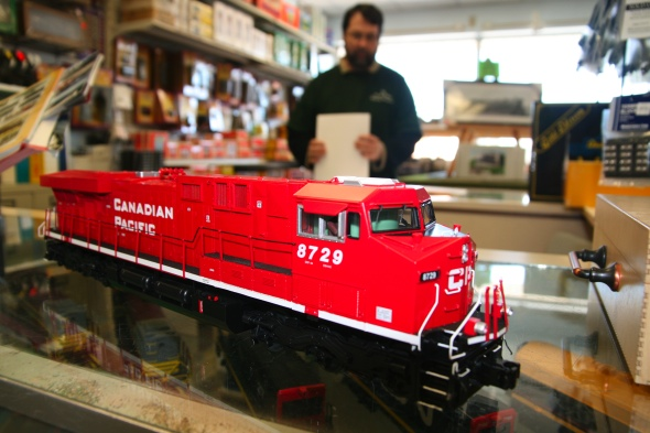 C.P. Train at Credit Valley Railway Co.