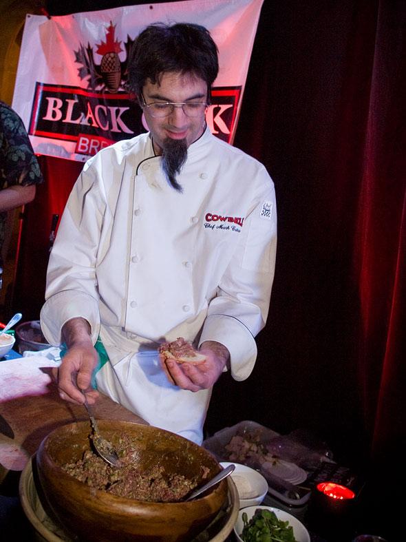 mark cutrara beef tartare