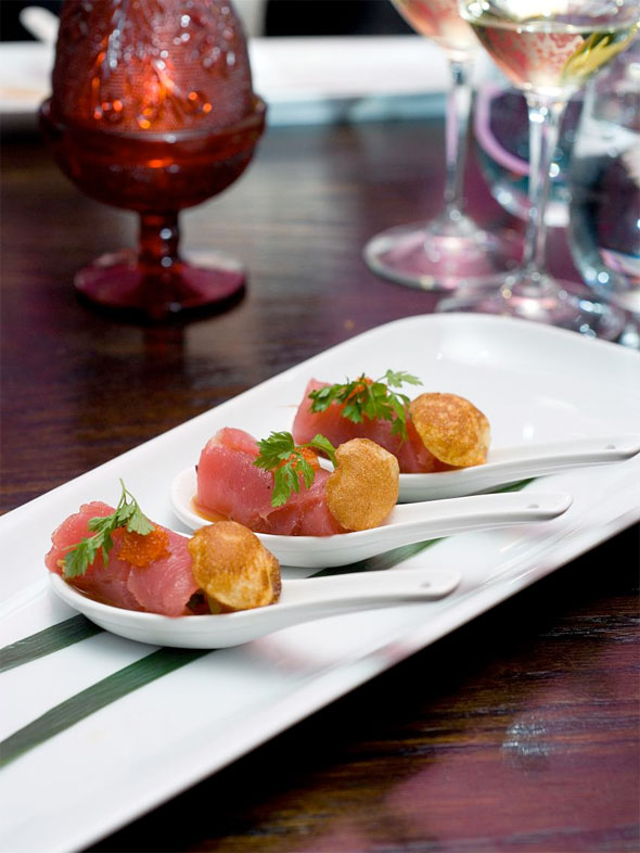 Susur lee brings shang nyc to madeline 39 s in toronto for Asian canape ideas