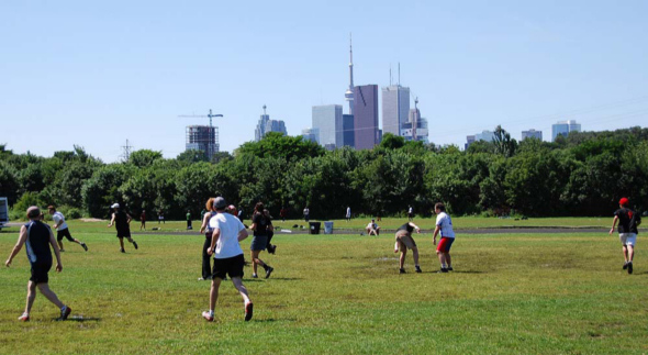 Toronto Ultimate Pickup at Riverdale Park