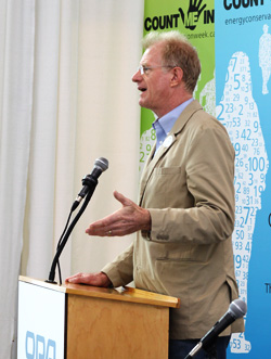 Ed Begley Speaking