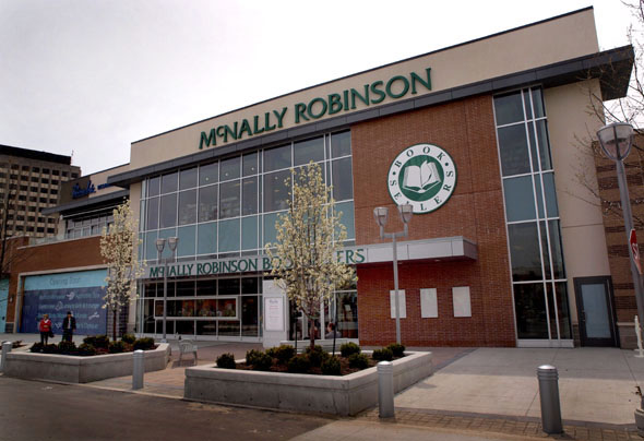 The new McNally Robinson bookstore at The Shops At Don Mills